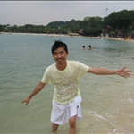 at singapore palawan beach