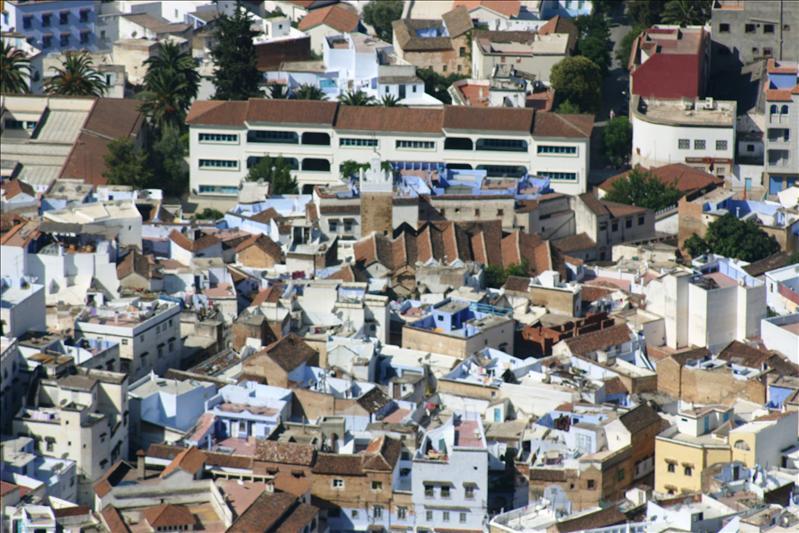 Chefchaouen rooftops