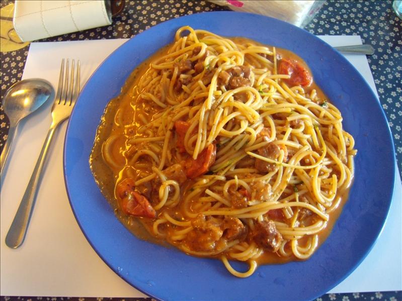 番茄牛肉義大利麵