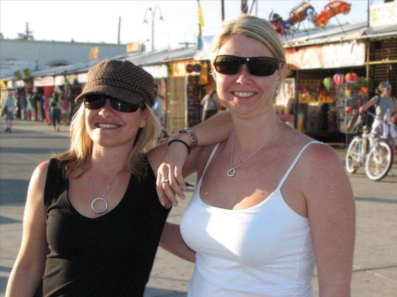 Lisa and Rachelle