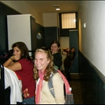 our hostel in rome..a long narrow hallway