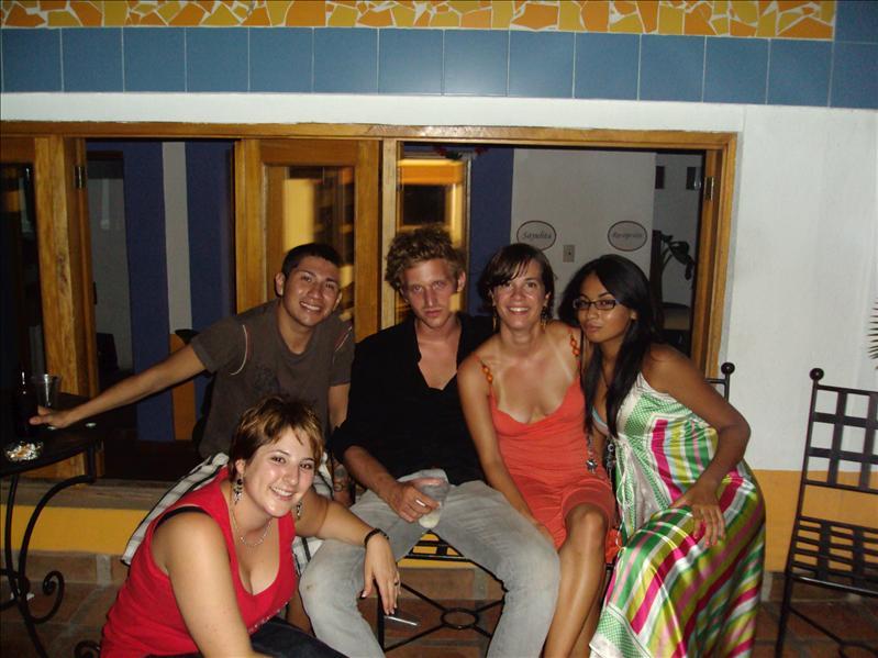 Corinne, Marco (maestro), Mario, ich und Frida (Gastschwester)