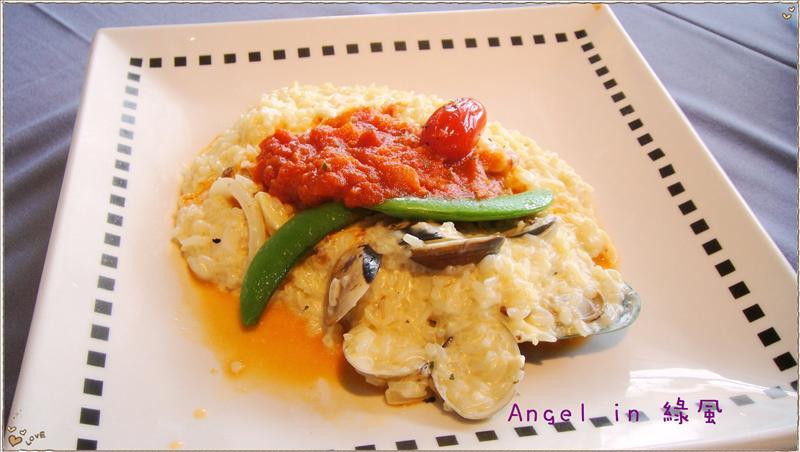 奶油海鮮義式燉飯
