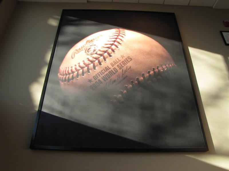 Fenway Park - World Series Winning Home Run Ball- Boston, MA