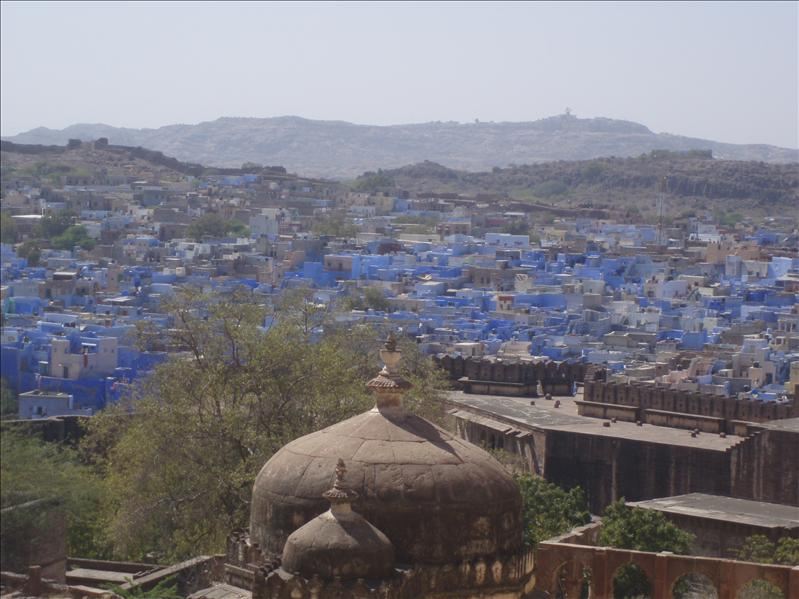 Overlooking Jodhpur from M. Fort