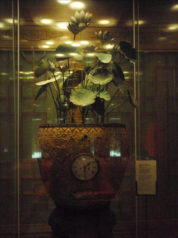clock, forbidden palace