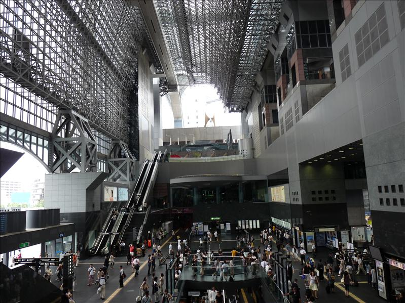 Kyoto JR central station