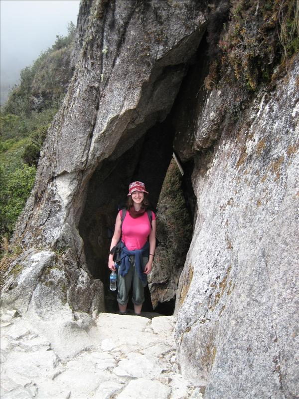 Inca tunnel