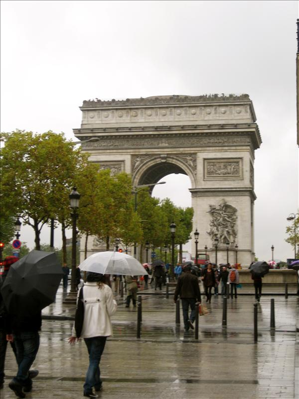 the arc of triumph!