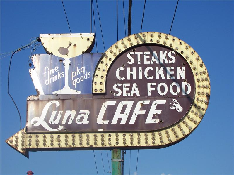 Luna Cafe is older than Route 66