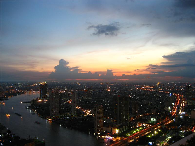 Bangkok from 63rd Floor