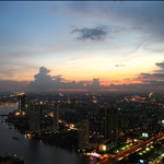 Bangkok from 63rd Floor