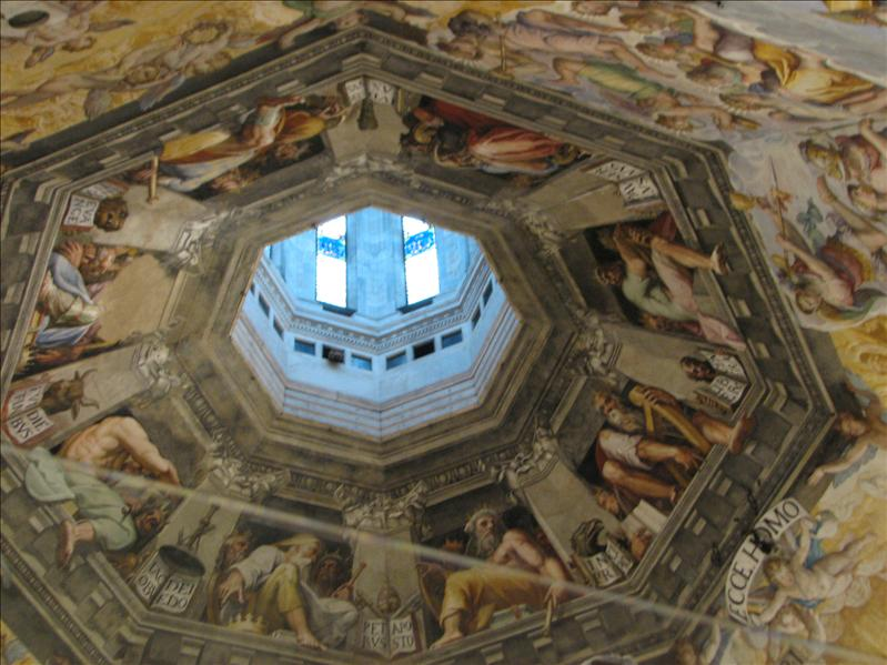 ceiling/dome of the Duomo