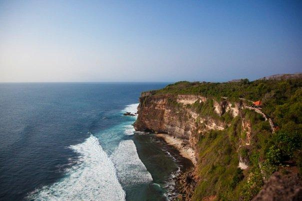 Uluwatu. Falling down from here would be fatal.