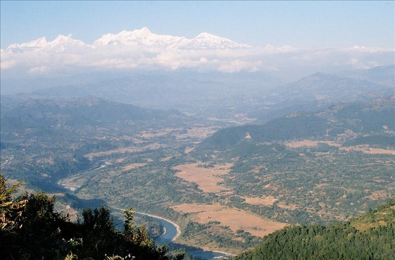 Marsyangdi River Valley