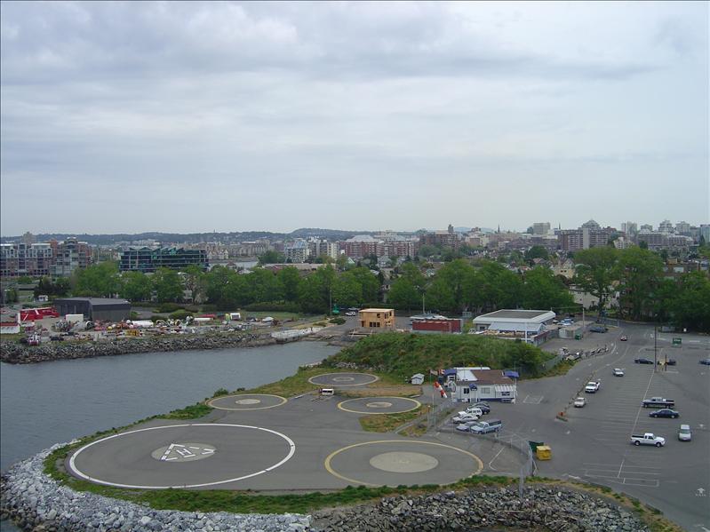 Dock at Victoria, Canada