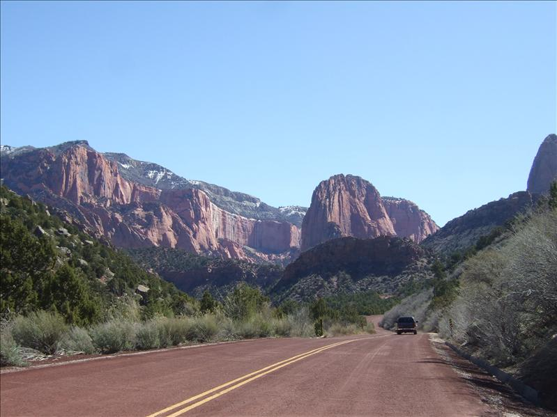 Kolob Canyon, Zion Nation Park, Utah