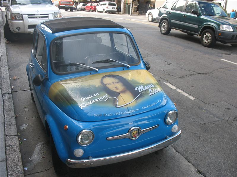 "The ""Mona Lisa"" Car"