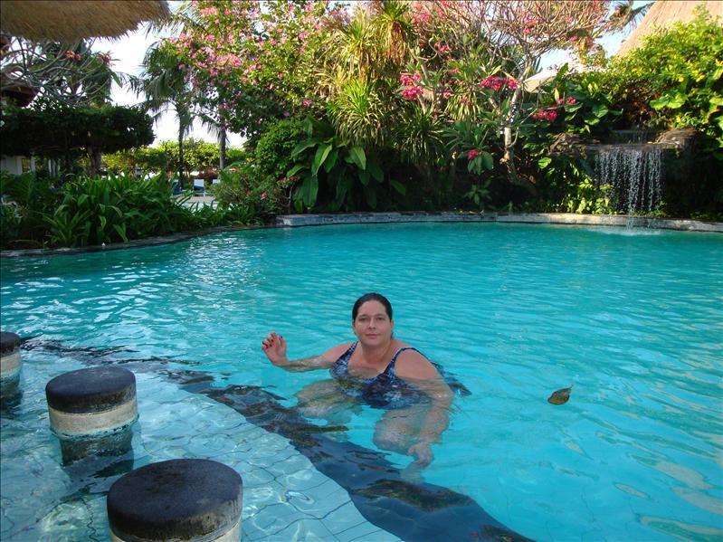 swiming pool in bali hotel grand mirage