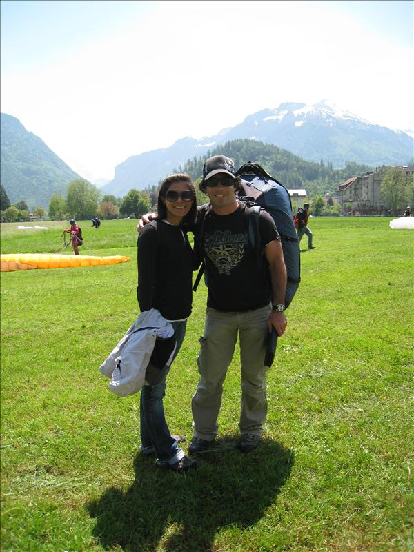 Paragliding partner