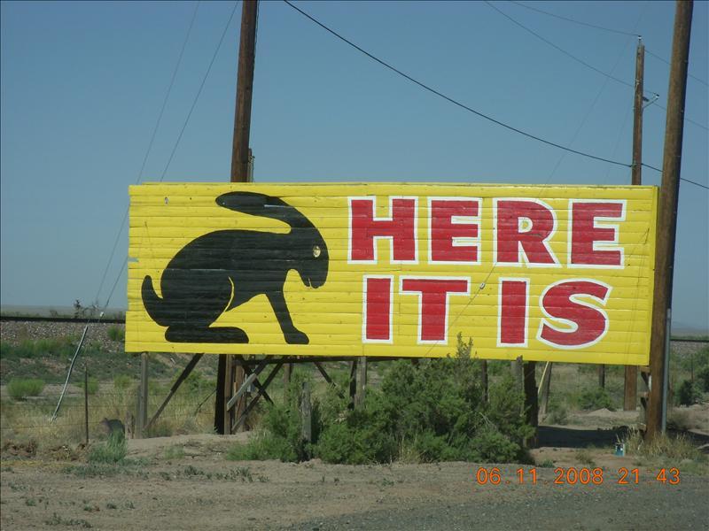the town of Jackrabbit, AZ