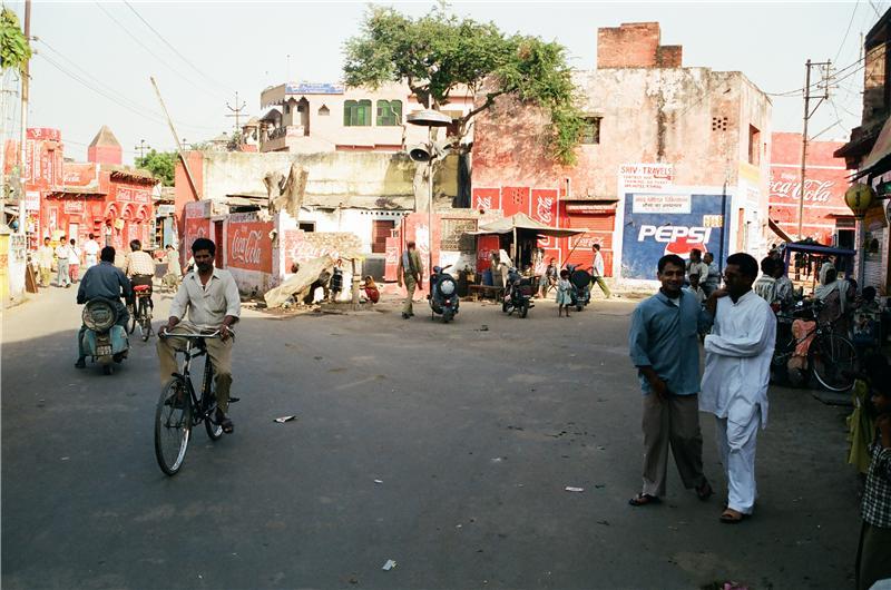 Agra. near Taj Mahal