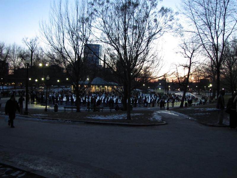 Boston Common - Frog Pond