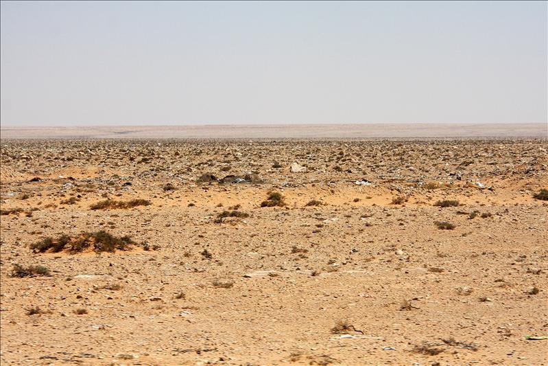 De eerste woestijn