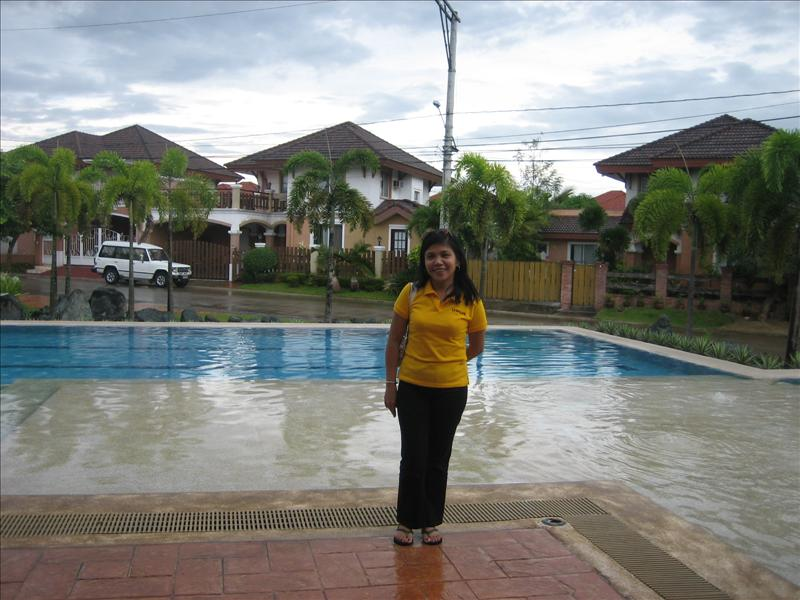 At Laguna Bel Air's Clubhouse
