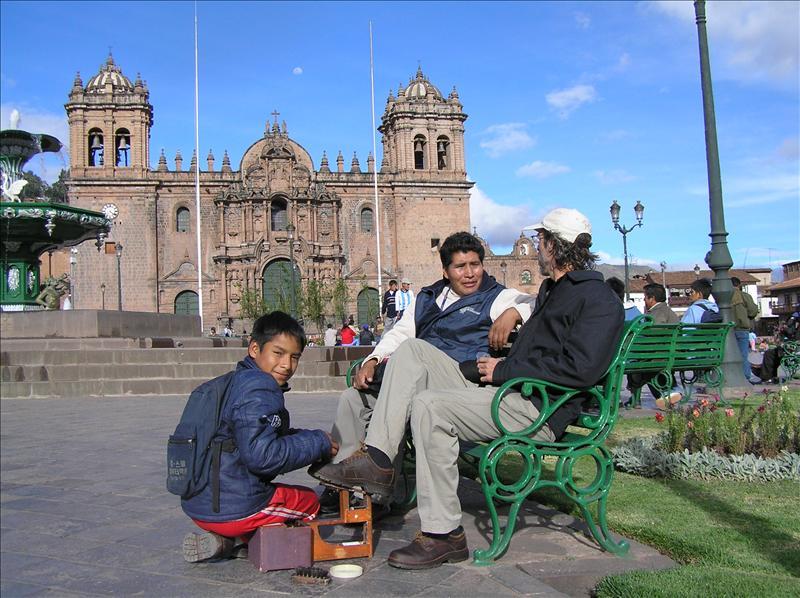 Cusco-Plaza de Armas