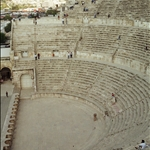 Roman Theatre Amman, Jordan The Roman Theatre was built during the reign of Marcus Aurelius (169-177 AD),