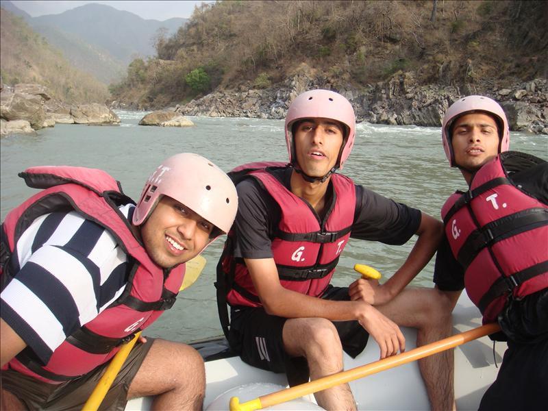 rafting...