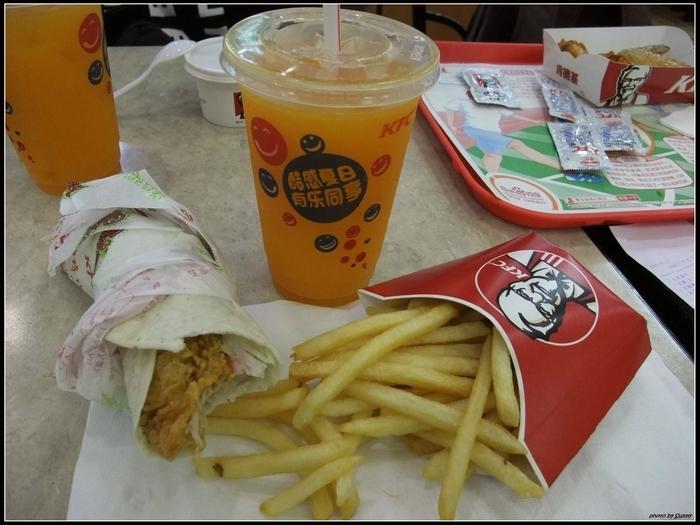 我的一頓KFC,21RMB