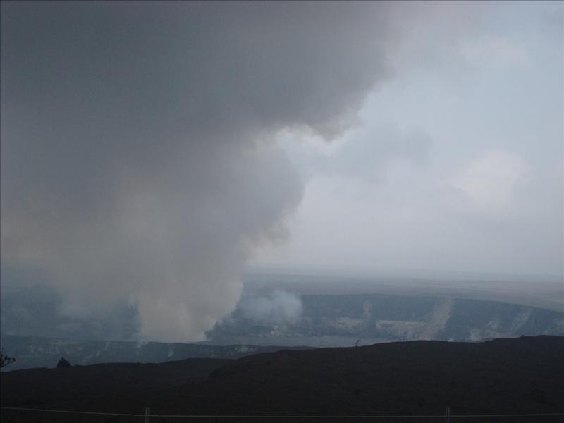 Kilauea - The crater from another point of view