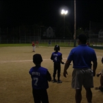 a night game