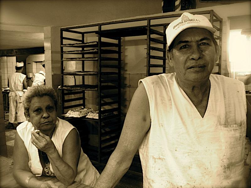 "This man at the bakery waves wildly at me to please come over so he can ask, ""De donde eres?"" (Where are you from?!) Cubans are extremely curious of my origin as they claim they've never seen a person like me that looks Chinese but isn't ugly. There used to be tons of Chinese people in Cuba, originally brought in for slavery. Fidel gave everyone a window to leave the country when he took over, so all the Chinese people left, leaving only the old Chinese people, and a ""Barrio de Chino"" or Chinatown and a massive, and beautiful Chinese cemetery and park."