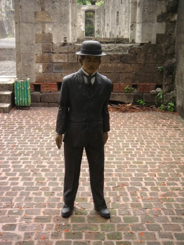 Life like statue of Jose Rizal