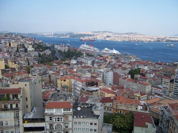 ISTANBUL SKYLINE FROM GALATA TOWER