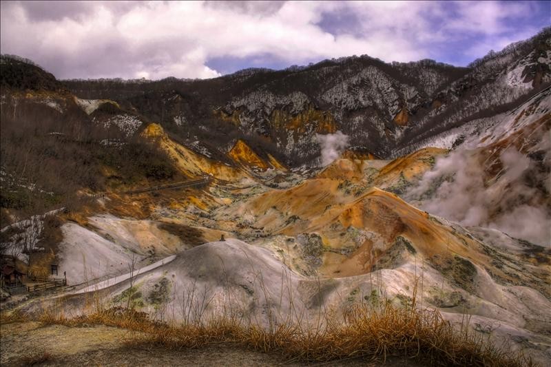 Hell's Valley, Noboribetsu