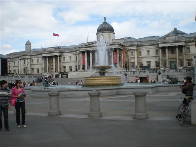 National Gallery, Trafalgar Square - 20th May