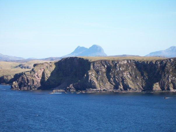 SUILVEN FROM POINT OF STOER, APR 2007