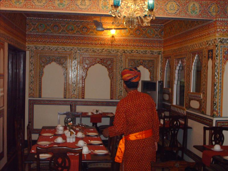 Shahpura House - dining room