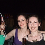 Laura and Suzanne pre Full Moon party