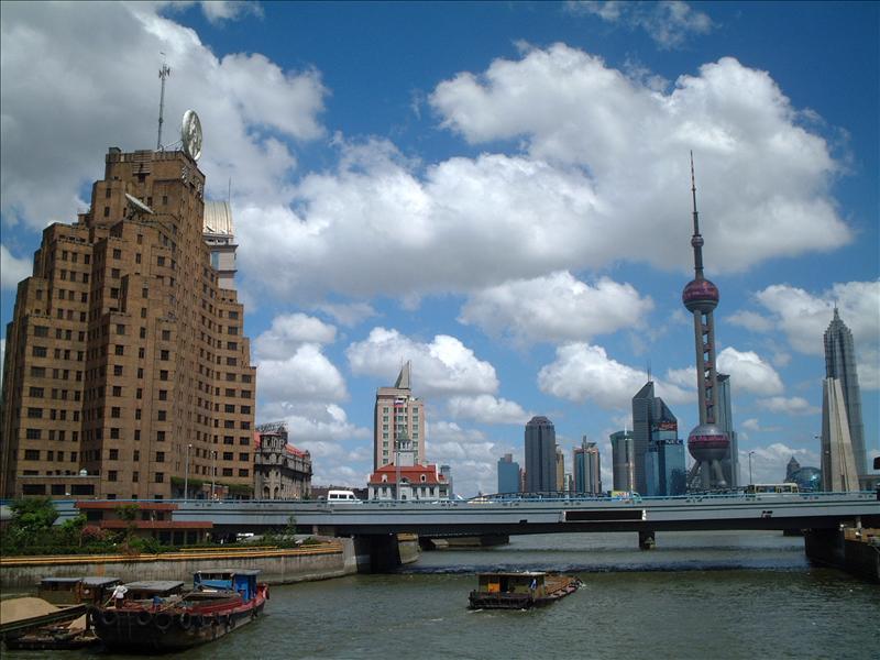 shanghai waitan上海 外滩