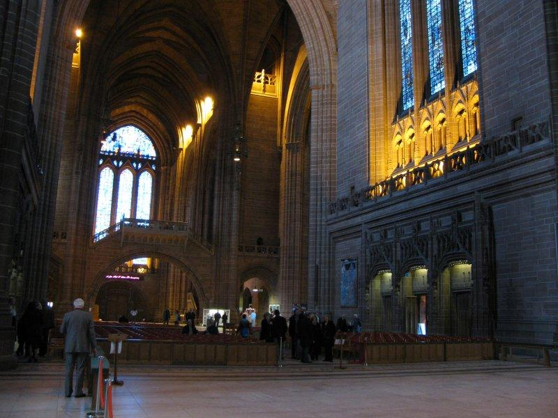The Anglican cathedral is the largest in Europe.
