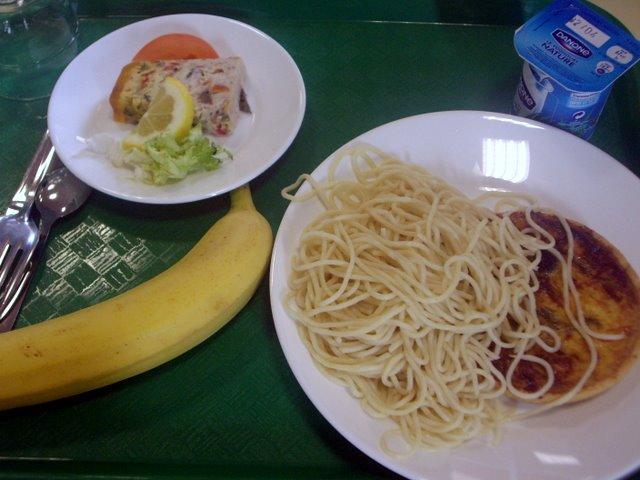 學生餐廳的菜色好像都差不多
