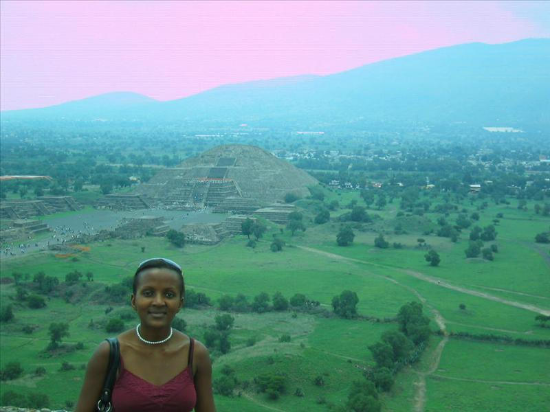 Teotihuacan city literally was larger than most roman/greek cities