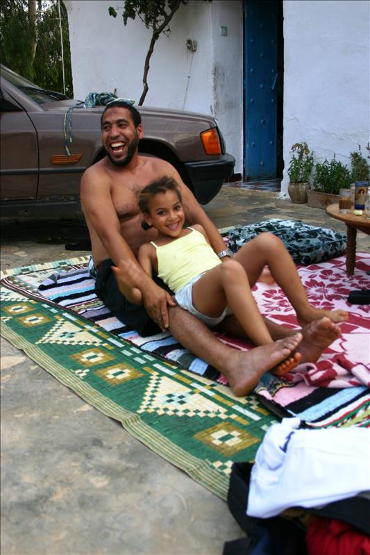 Abdellah and his niece