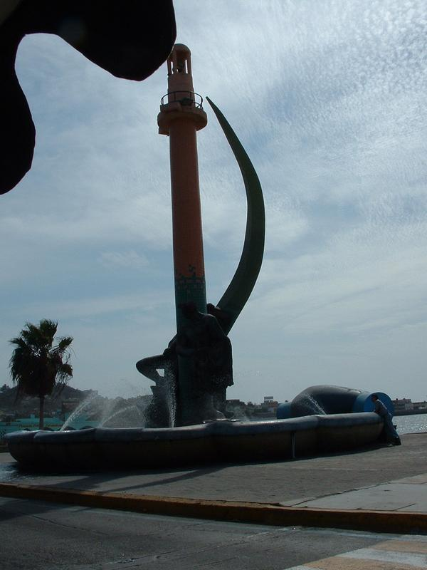 Fountain in Mazatlan,MX