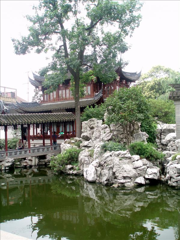 Yu Garden, theres acturally something else here beside shops.